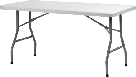 Rectangular Banquet Table For Professional Use 150